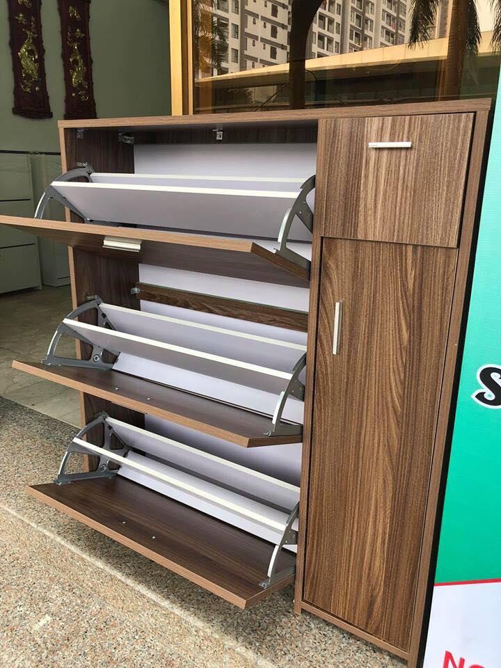 Tủ giày dép gỗ công nghiệp